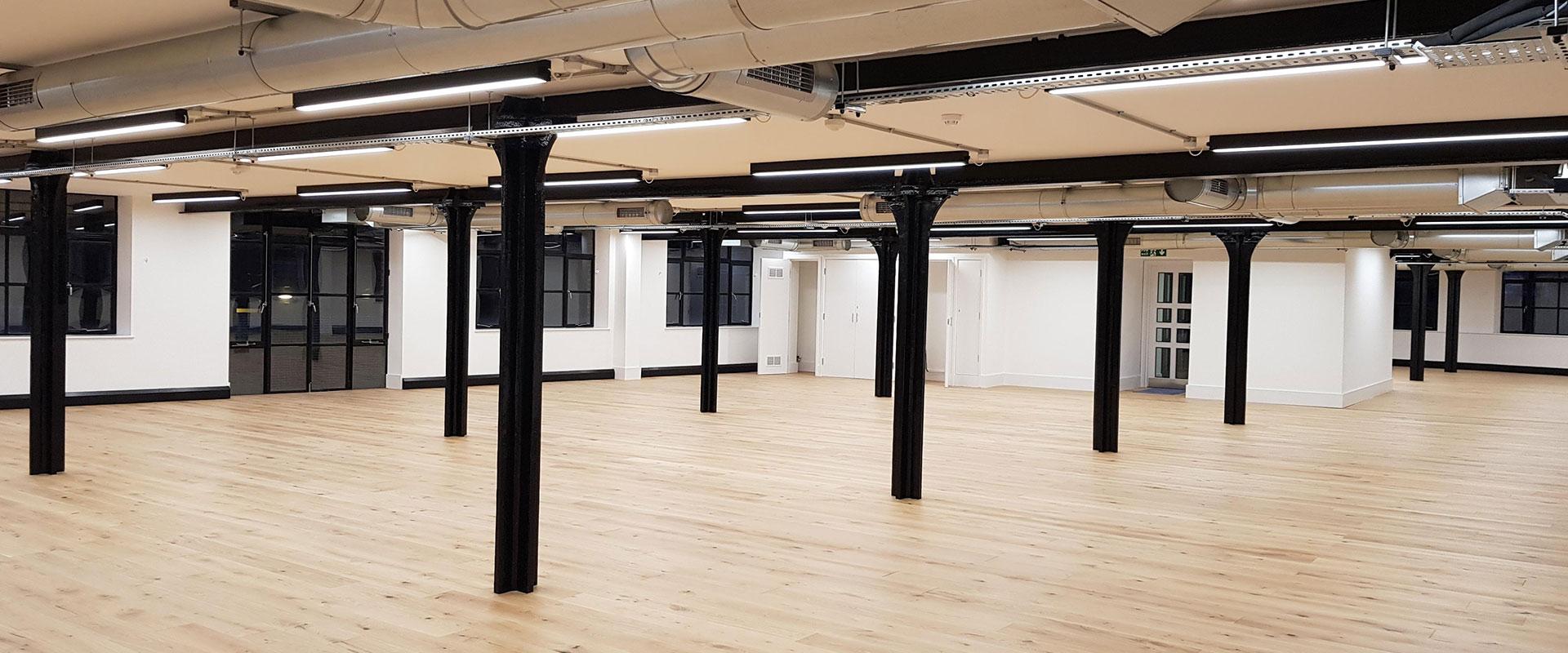 Refurbished warehouse